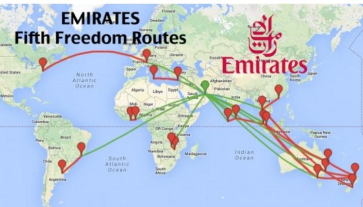 Fifth Freedom Flights